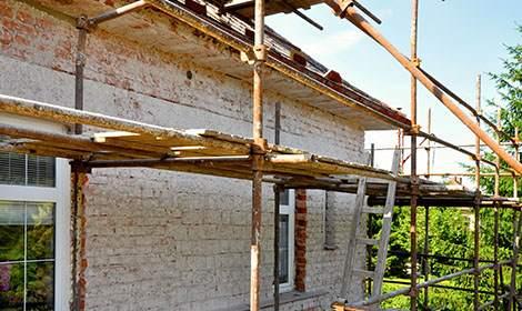 Renovatie door een klusbedrijf